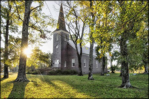 Photograph - Country Church by Erika Fawcett