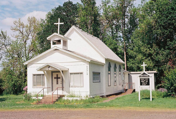 Photograph - Country Church by HW Kateley