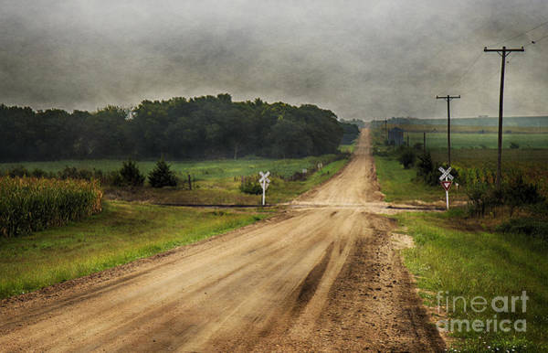 Photograph - Country Crossing by Pam  Holdsworth