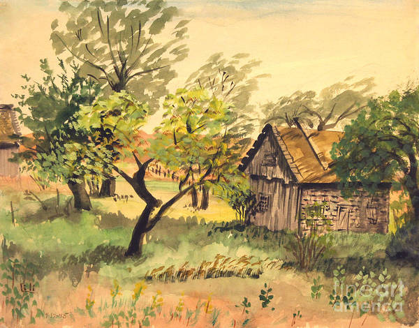 Painting - Country Farm Ludington Michigan by Art By Tolpo Collection