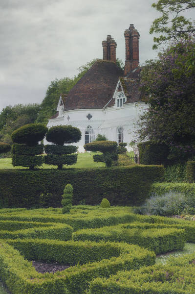 English Garden Photograph - Country House by Joana Kruse