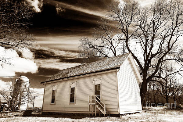 Photograph - Country House by John Rizzuto