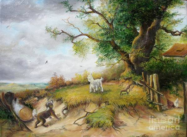 Painting - Country Life  by Sorin Apostolescu
