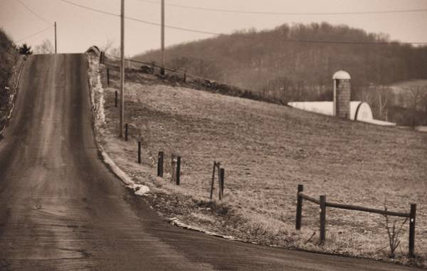 Berlin Ohio Photograph - Country Road by Dan Sproul