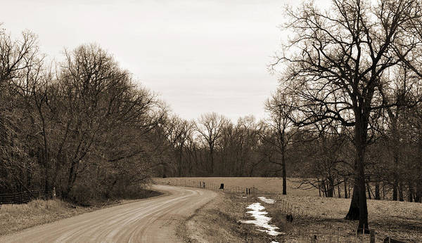 Digital Art - Country Road by Kirt Tisdale