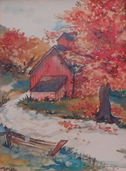 Painting - Country Roads by Monica Ironside