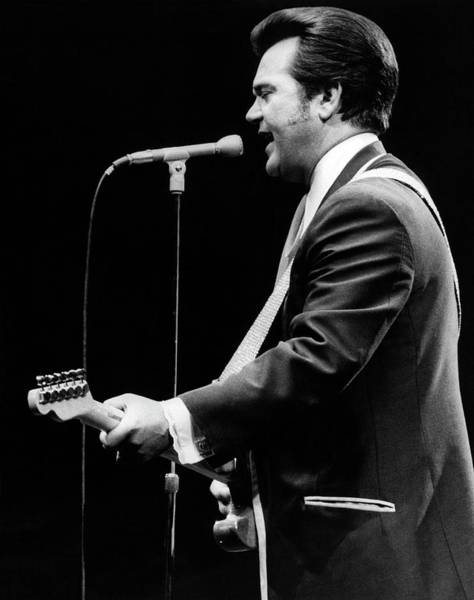 Photograph - Country Star Conway Twitty by Underwood Archives