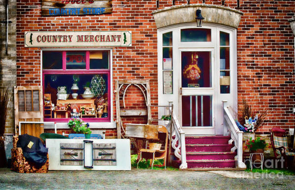 Photograph - Country Store by Les Palenik