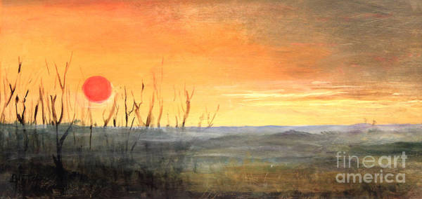 Painting - Country Sunset Jo Daviess by Art By Tolpo Collection