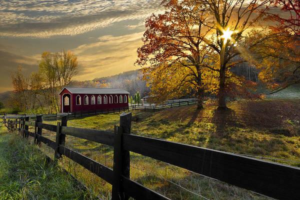 Nantahala Photograph - Country Times by Debra and Dave Vanderlaan