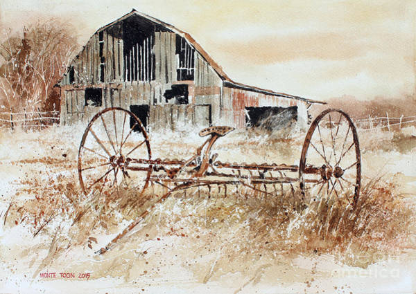Painting - Country Treasures by Monte Toon