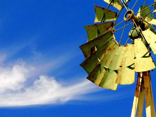 Photograph - Country Windmill by David Rich