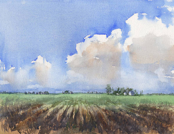Wall Art - Painting - Countryside by Max Good