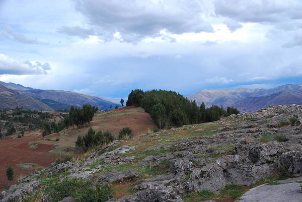 Photograph - Countryside Of Peru by Cascade Colors
