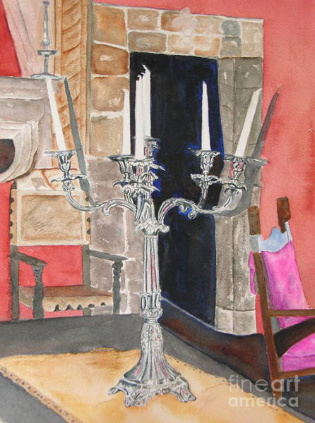 Painting - Count's Candelabra by Peggy Dickerson