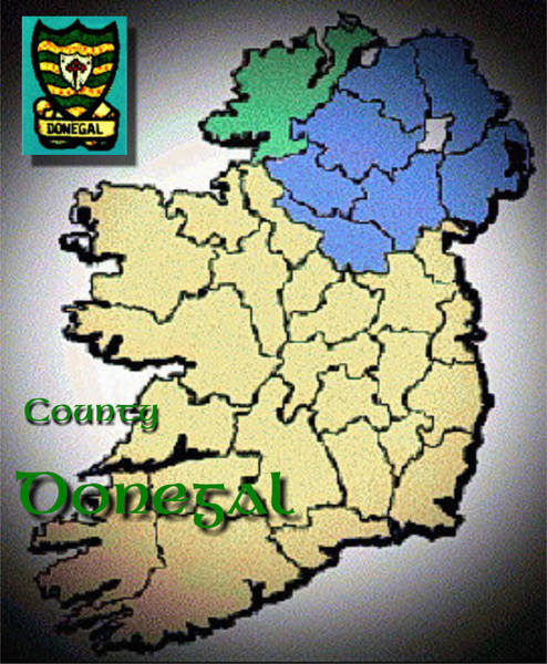Digital Art - County Donegal by Val Byrne