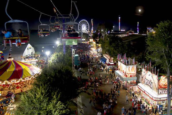 Photograph - County Fair Fun 2 by Jim Moss
