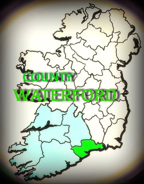 Mixed Media - County Waterford by Val Byrne