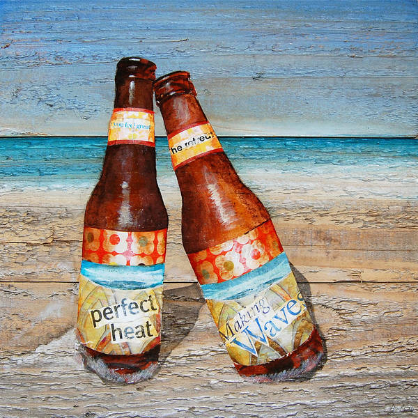 Beer Mixed Media - Couples Thearap by Danny Phillips