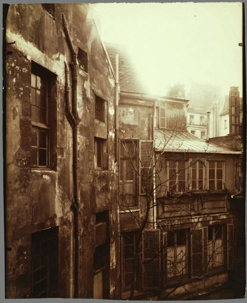 Cours Photograph - Cour De Rohan Eugène Atget, French, 1857 - 1927 Paris by Litz Collection