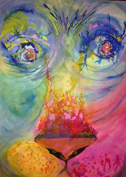 Painting - Courage by Deborah Brown Maher