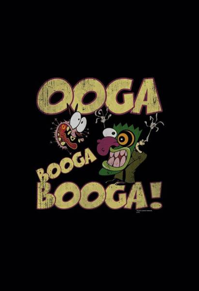 Courage Digital Art - Courage - Ooga Booga Booga by Brand A