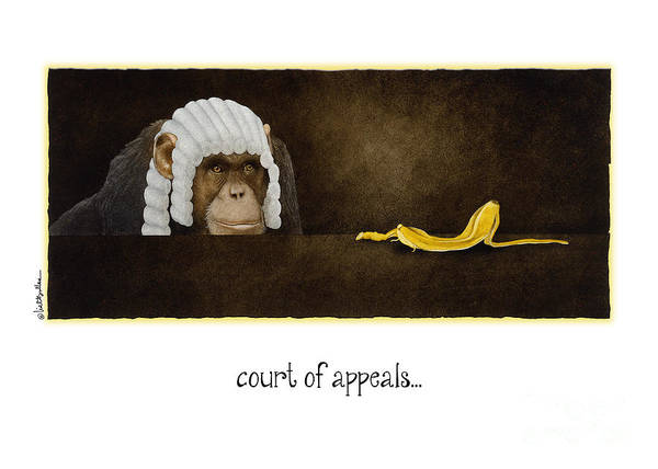 Bullis Painting - Court Of Appeals... by Will Bullas