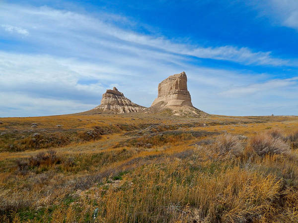 Photograph - Courthouse And Jail Rocks by Dan Miller