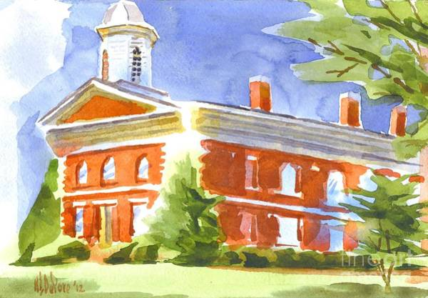 Painting - Courthouse Bright by Kip DeVore