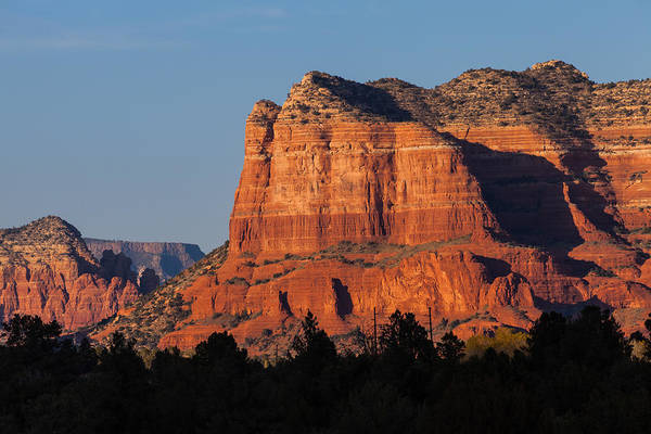 Photograph - Courthouse Butte by Ed Gleichman