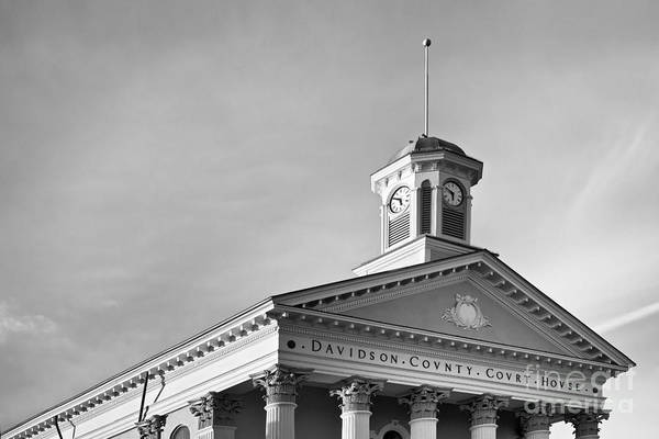 Courthouse Towers Wall Art - Photograph - Courthouse Clock by Patrick M Lynch