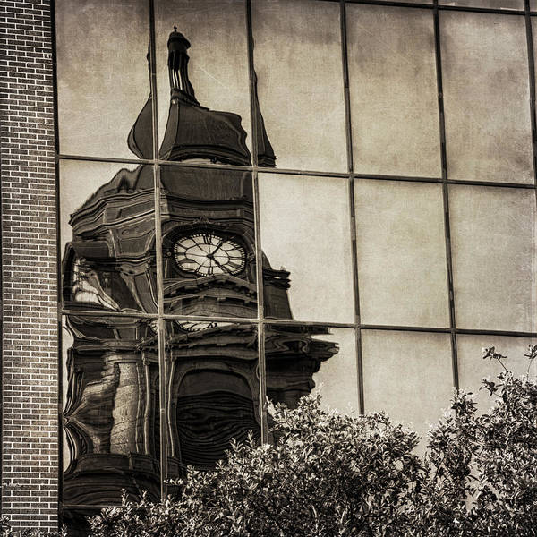 Photograph - Courthouse Reflections by Joan Carroll