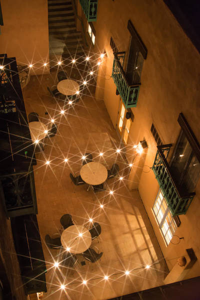 Photograph - Courtyard Ambiance by Colleen Coccia