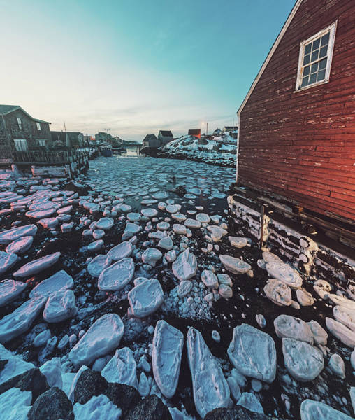 Maritime Provinces Photograph - Cove In Ice by Shaunl