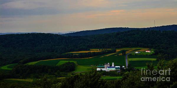 Garrett County Wall Art - Photograph - Cove Run Farm Accident Md by Howard Tenke