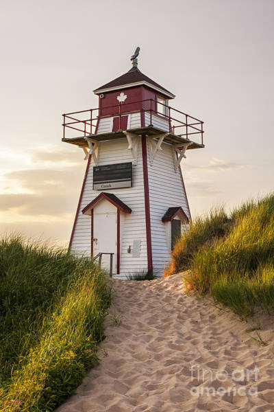 Covehead Harbour Lighthouse Art Print