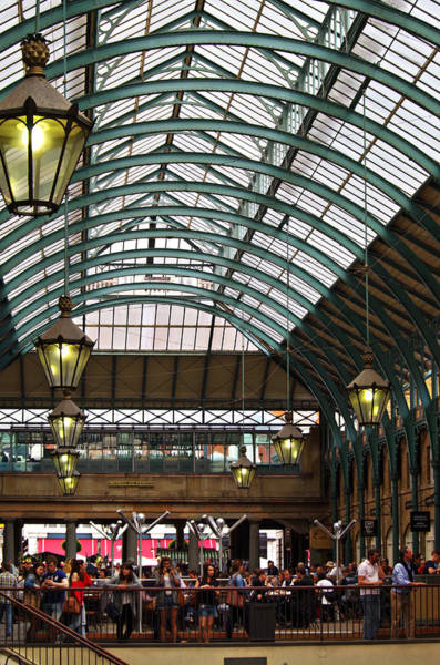 Photograph - Covent Garden  by Sharon Popek