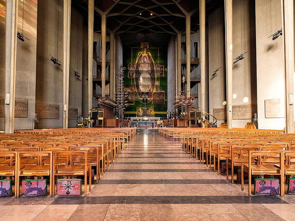 Photograph - Coventry Cathedral by Stephen Barrie