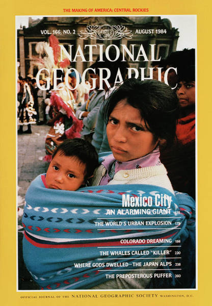 Wall Art - Photograph - Cover Of The August 1984 National by Stephanie Maze