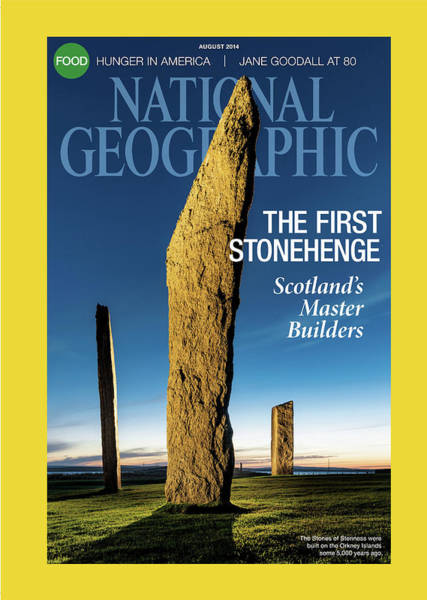 Wall Art - Photograph - Cover Of The August 2014 National by Jim Richardson
