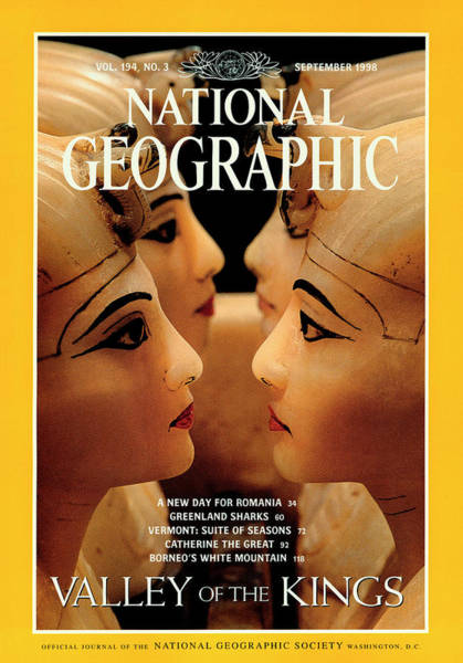 Alabaster Photograph - Cover Of The September, 1998 Issue by Kenneth Garrett
