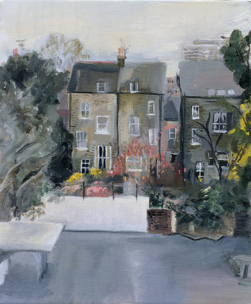 Housing Photograph - Coverdale Road Oil On Canvas by Sophia Elliot