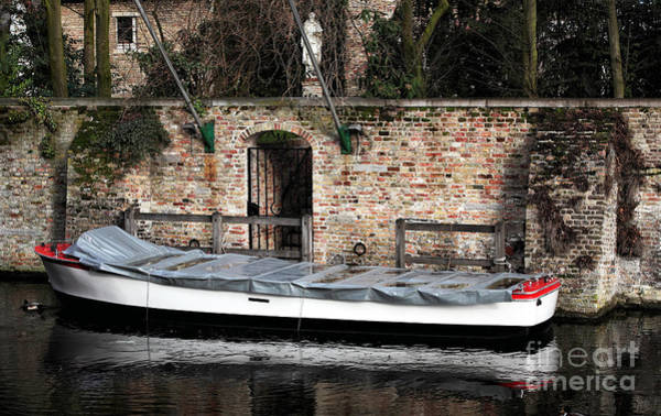 Wall Art - Photograph - Covered Boat by John Rizzuto