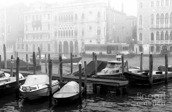 Wall Art - Photograph - Covered Boats In Venice by John Rizzuto
