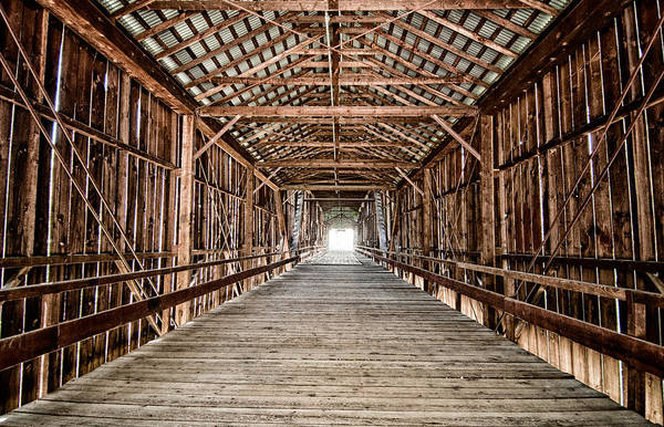 Covered Bridge Photograph - Covered Bridge by Cat Connor