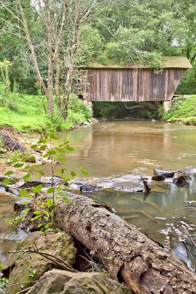 Photograph - Chickamauga Creek Covered Bridge by Gordon Elwell