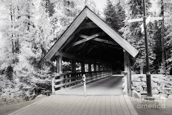 Photograph - Covered Bridge by Jon Burch Photography