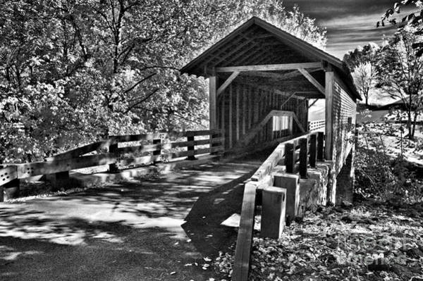 Wall Art - Photograph - Covered Bridge Memories by Paul W Faust -  Impressions of Light