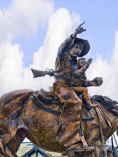 Photograph - Cowboy And Child by Brenda Kean