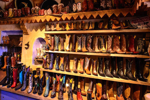 Photograph - Cowboy Boots by John Johnson